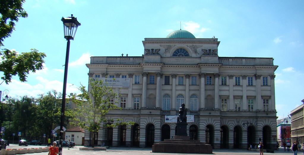 Polonia Palacio de Staszic Varsovia 07