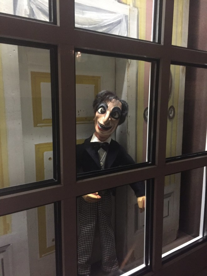 Sometimes you turn a corner and there is a creepy puppet staring at you. Sometimes there are many creepy puppets.