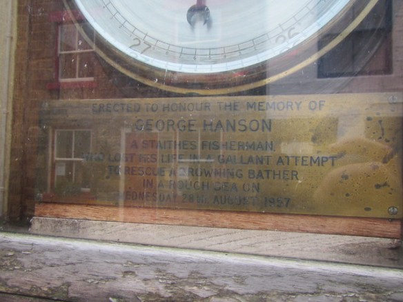 George Hanson Memorial, Staithes