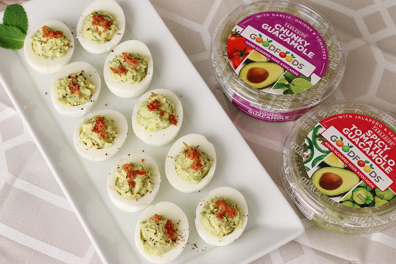 goodfoods-guacamole-deviled-eggs, holiday entertaining