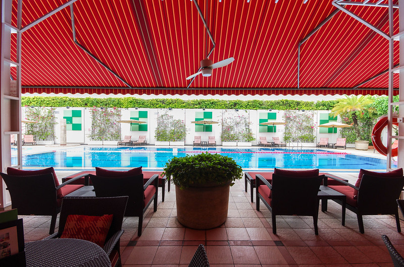 swimming pool - holiday inn singapore orchard city centre