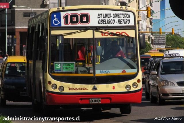 Buenos Aires 100 | Tarsa | Todobus Pompeya - Agrale / HFM032