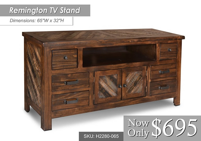 h2280-065 Remington TV Stand