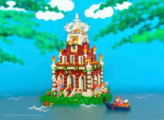 Hoan Kiem Lake temple island