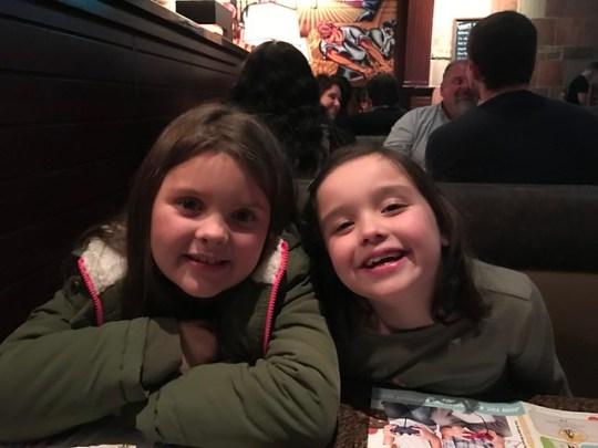 Annabel and Harper