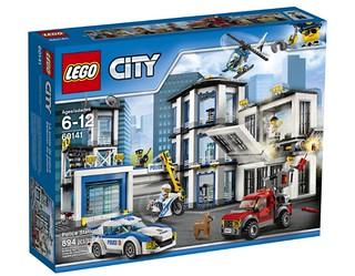 LEGO City Police Station (60141) box