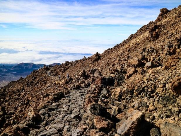 Sendero Parque Nacional del Teide