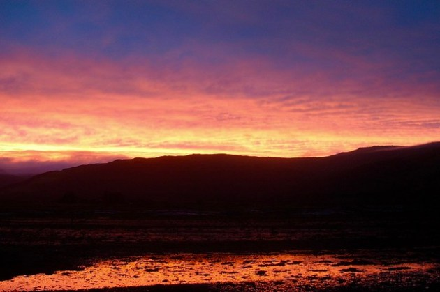 Sunset from Pennyghael