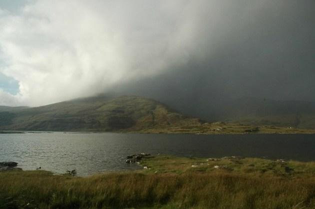Double Rainbow on Loch Beg