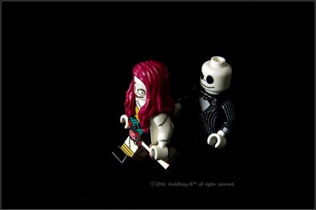 #HOBBYBRICK #하비브릭 #Halloween #The_Nightmare_before_Christmas #Jack & #Sally #크리스마스의악몽 #아키동이