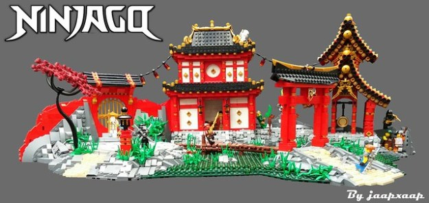 Ninjago Swamp City