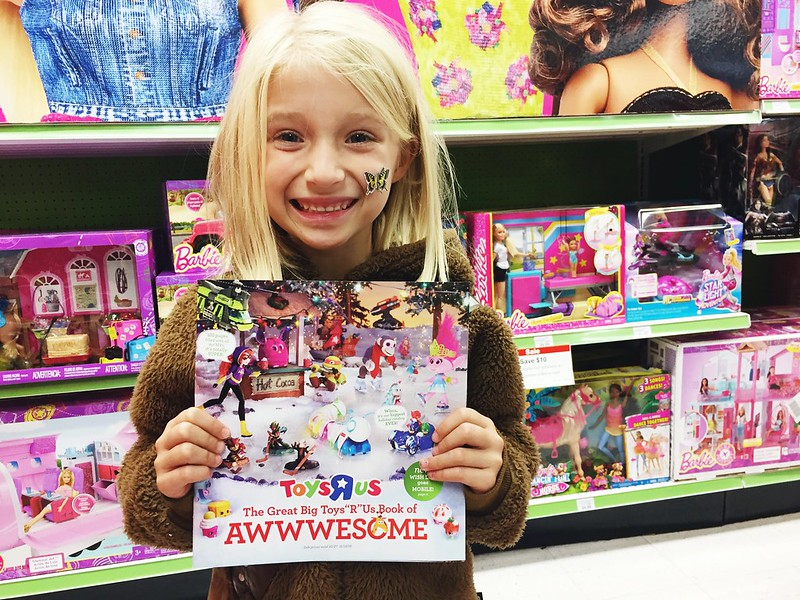 "Adding more to our Toys""R""Us Wish List!"