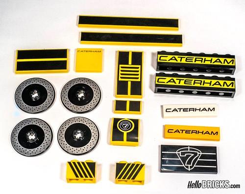 Lego Ideas 21307 - Caterham Seven 620R