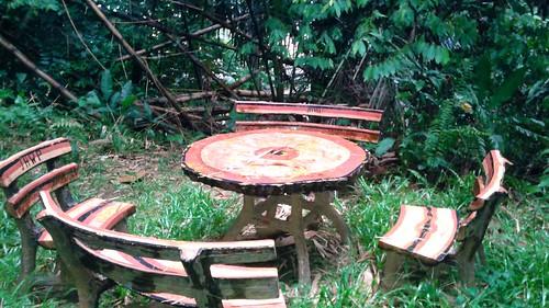 Table at Bukit Nanas