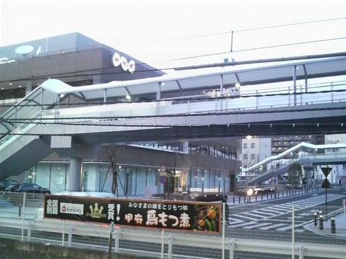 駅前にNHKがある。