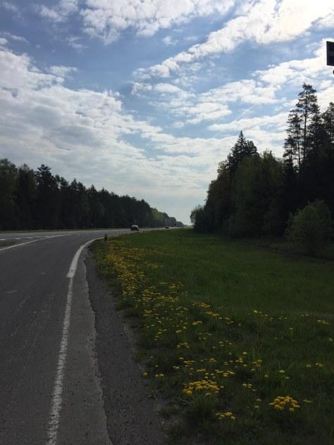 Трасса Минск-Москва