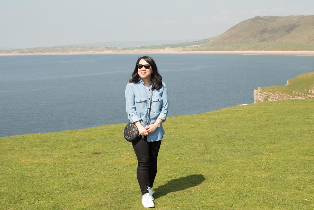 Rhossili Bay Cliffs 2