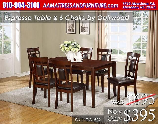 Espresso Table WM