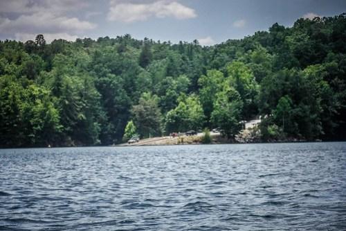 Lake Jocassee Kayaking-126