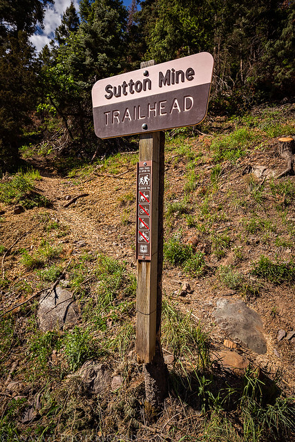 Sutton Mine Trailhead