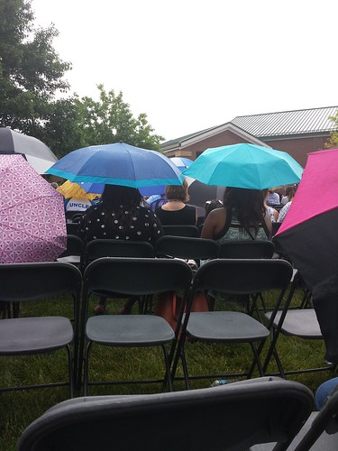 My View Of The Wyoming High School Graduation Ceremony