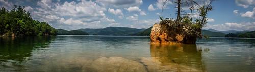 Lake Jocassee Kayaking-119
