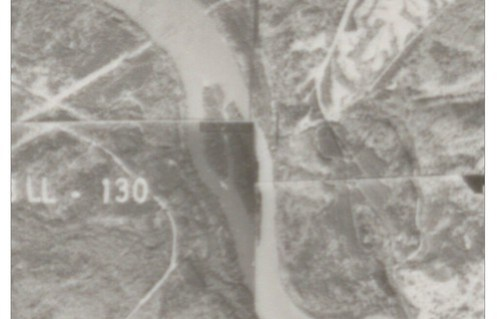 1970 Goat Island Aerial