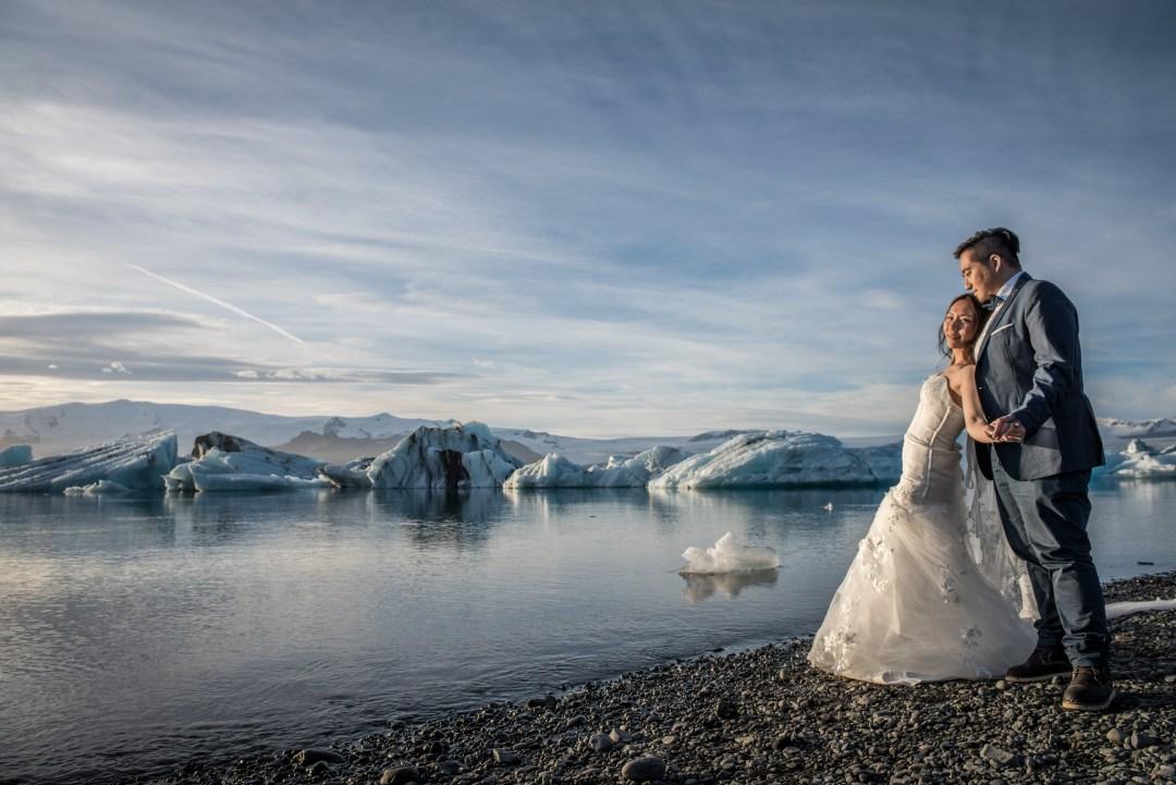 婚紗 @ 冰島 Jökulsárlón, Iceland