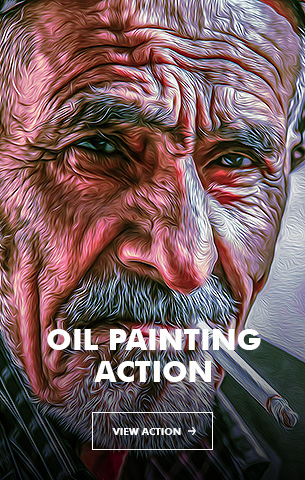 Painting Art - Painting Photoshop Action - 95