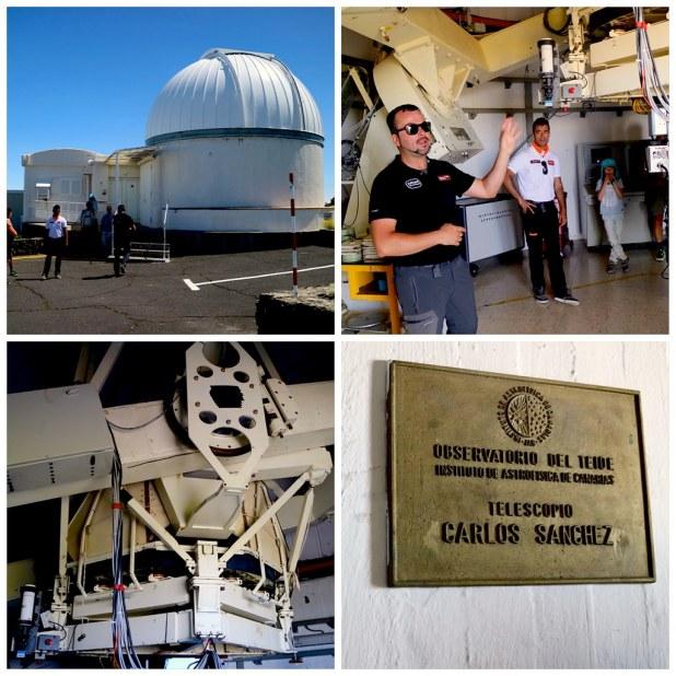 Telescopio Carlos Sanchez Tenerife