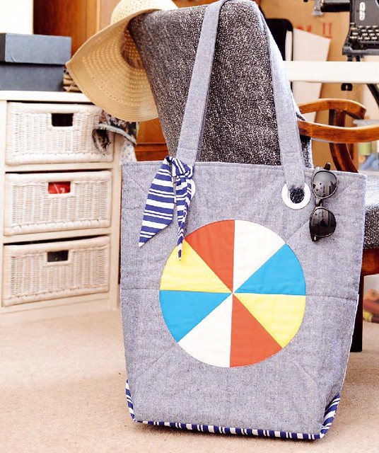 Beach Ball Bag (Sewing World June16)