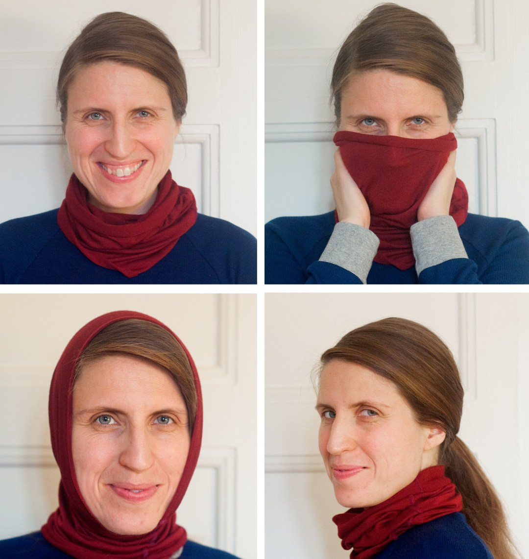 How to sew a buff