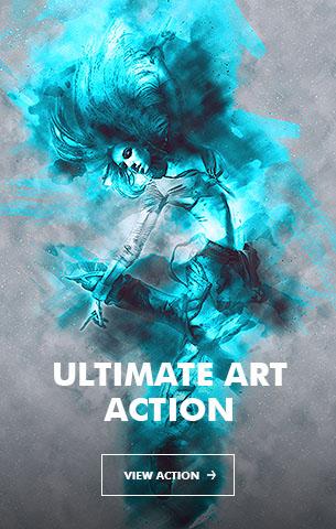 Ink Spray Photoshop Action V.1 - 30