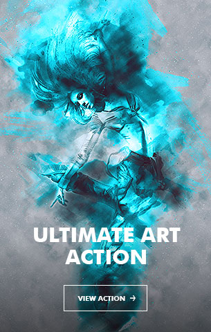 Painting Art - Painting Photoshop Action - 30