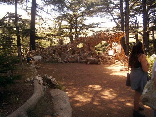 Ruins at Cedars of God
