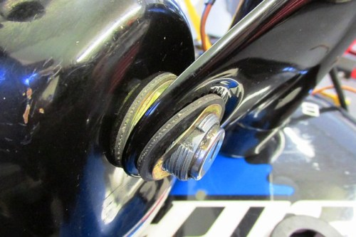 Ignition Switch Mounting Detail