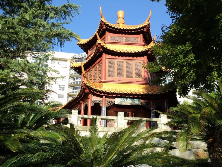 Chinese Garden of Friendship, Sydney, Australia - the tea break project solo travel blog