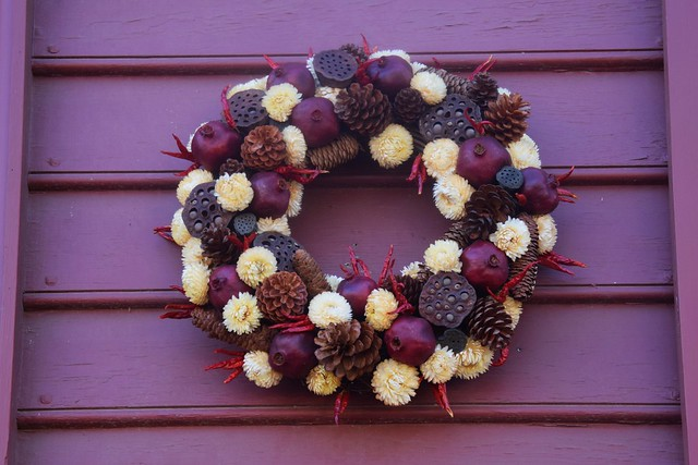 Colonial WIlliamsburg Christmas Wreath