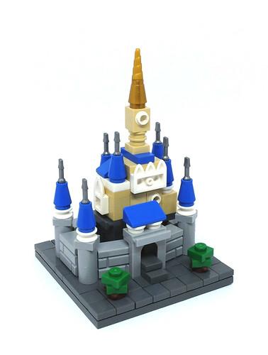 Microscale Cinderella's Castle