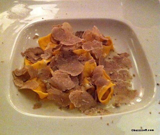 Tortello with truffles - Locando nel Borgo Antico