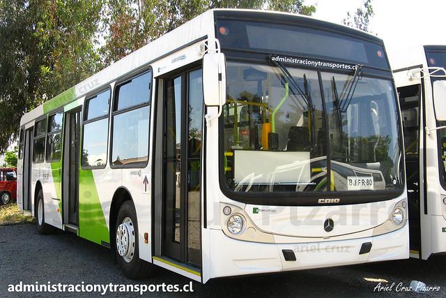 Transantiago - Buses Vule - Caio Mondego H / Mercedes Benz (BJFR80)