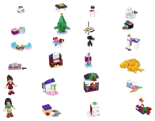 2016 LEGO Advent Calendars: Star Wars, City and Friends revealed [News ...