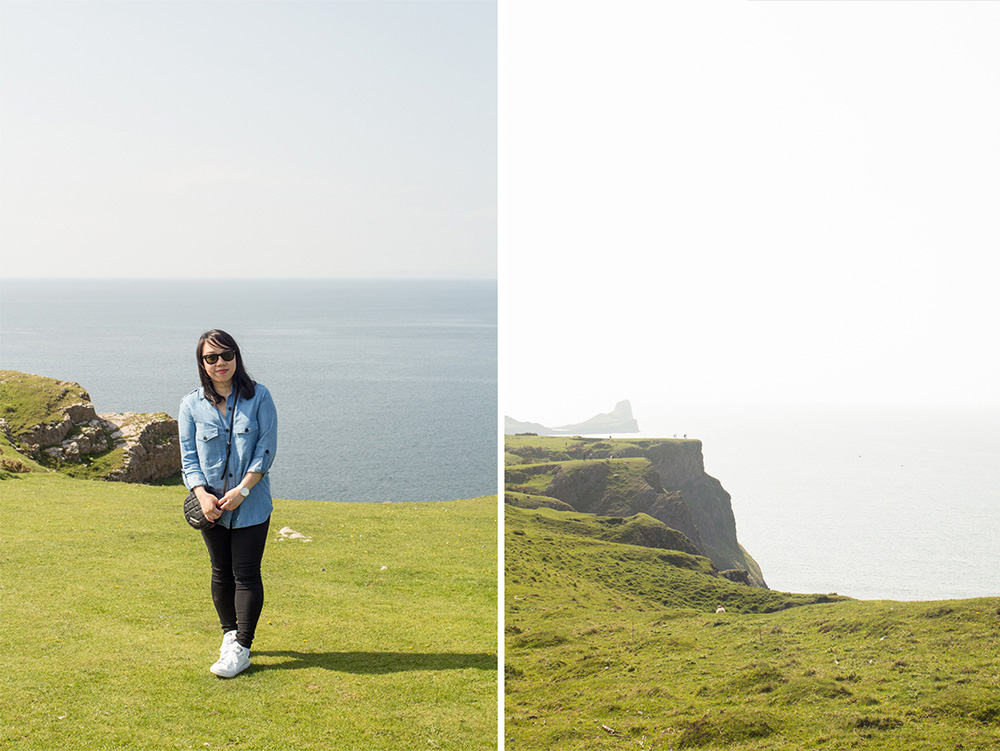 Rhossili Bay Cliffs 9