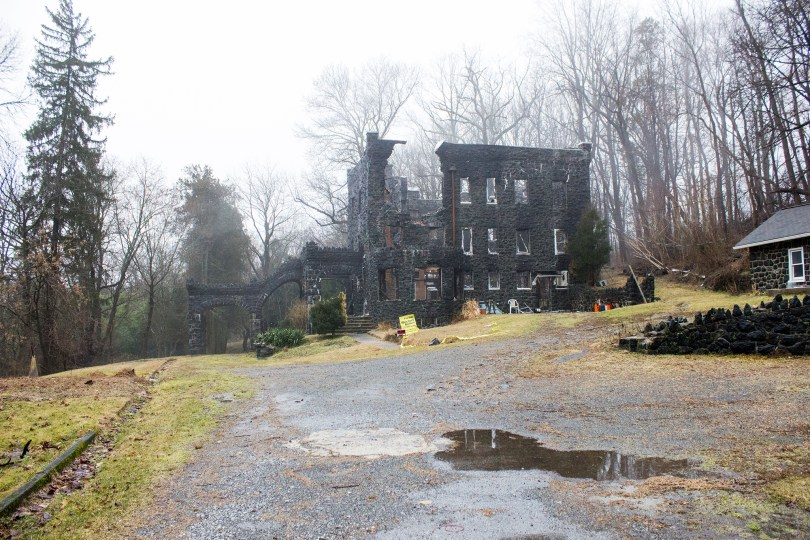 rocky-hill-castle-chadds-ford-fire-damage-fog