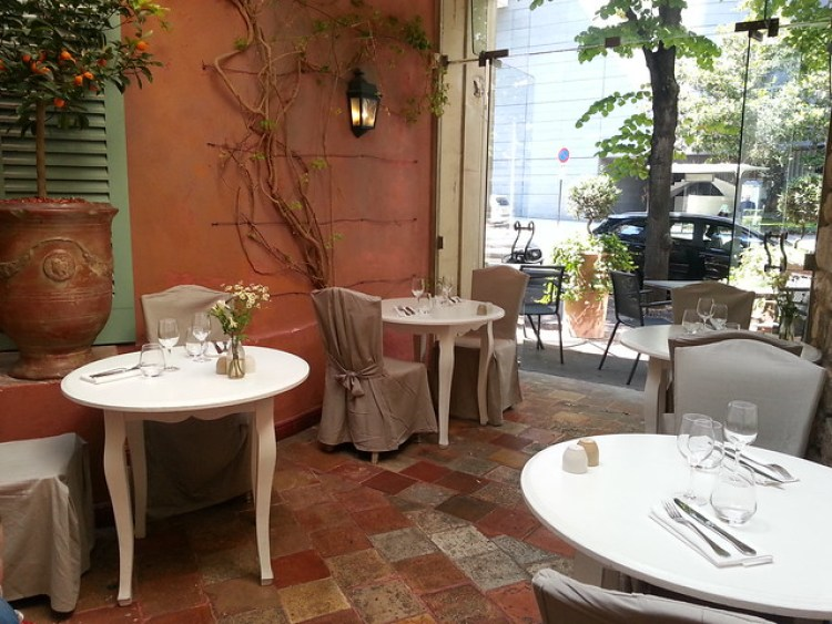 Restaurant Le Sud, Paris 17.