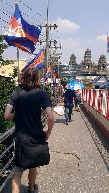 Walking Towards Cambodia