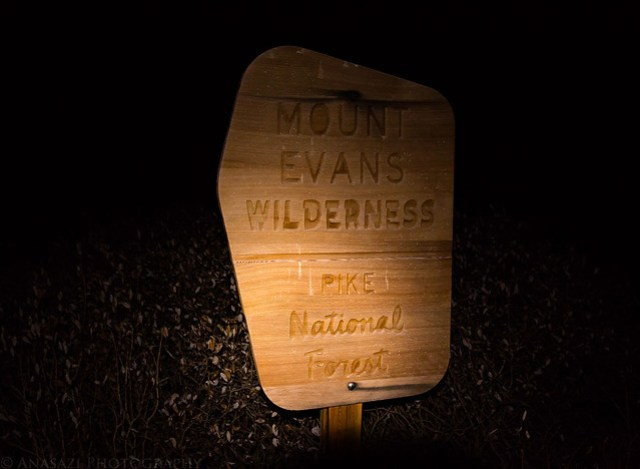 Mount Evans Wilderness by Headlamp