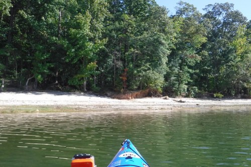 Paddling to Ghost Island in Lake Hartwell-33