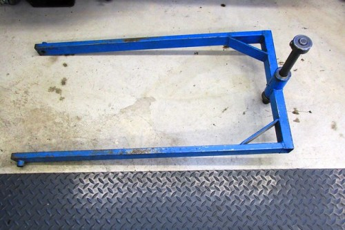Frame Jig Frame, Steering Stem Rod and Locking Nut