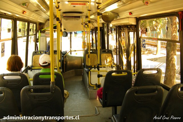 Transantiago E04 | Unitran | Metalpar Tronador - Mercedes Benz / WH2080